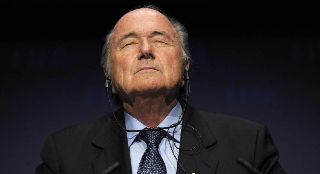 """Blatter tachó de """"ridícula y absurda"""" acusación de agresión sexual contra él"""