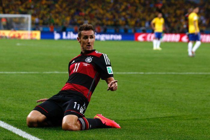 Resultado de imagen de klose ultimo gol en mundiales