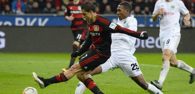Chicharito Hernández sigue creciendo en la Bundesliga. Otro BLMVP esta semana