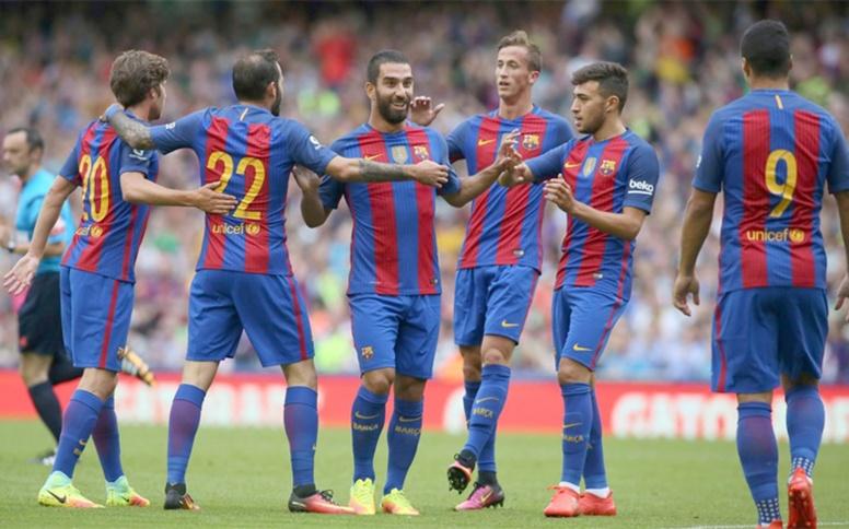 Barcelona afina su puntería frente al Celtic comandado por Turan