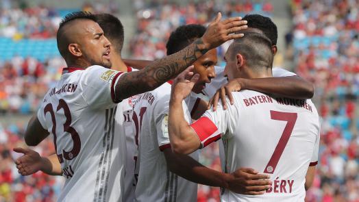 El Bayern vence al Inter de Milán con facilidad