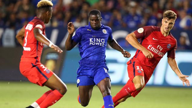 El PSG con la puntería fina golea al Leicester City