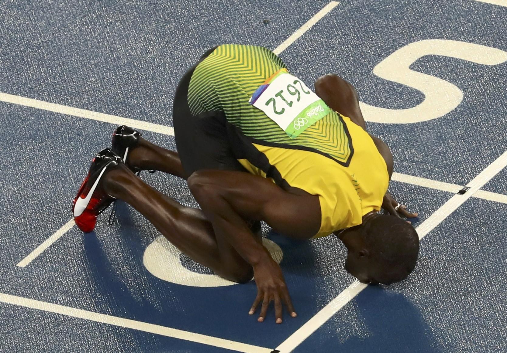 Usain Bolt, cada vez mas cerca de su recta final en el atletismo