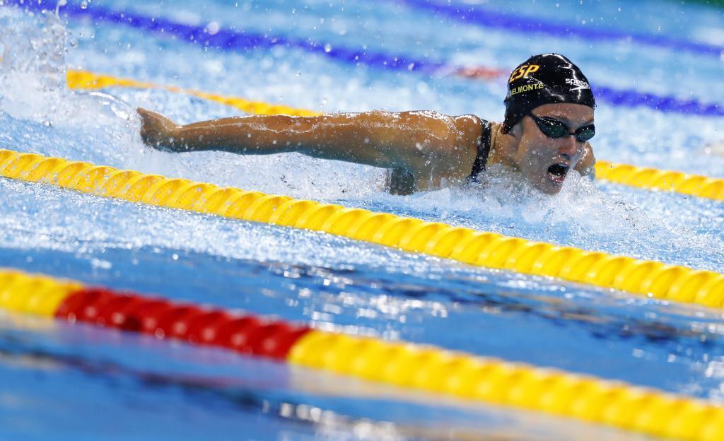 Una gigante Mireia Belmonte da a España su primer oro en Rio 2016