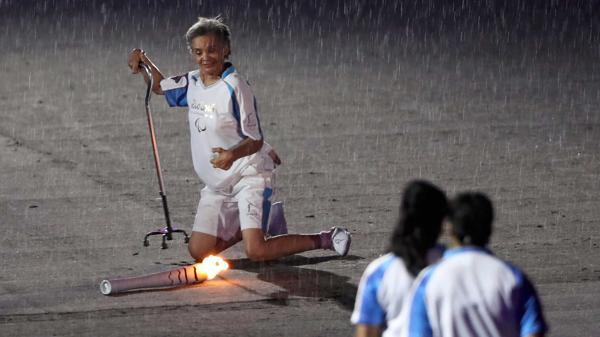 Marcia Malsar no se dio por vencida. Foto Reuters.