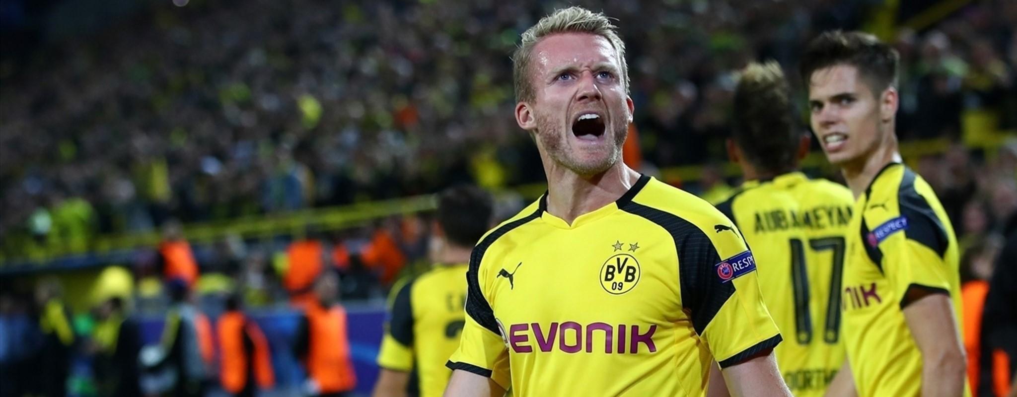 Real Madrid no pudo sostenerse en Dortmund y el BVB le saca empate