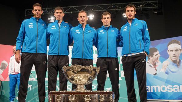 Remontada histórica de Argentina y se consagró campeón de la Copa Davis