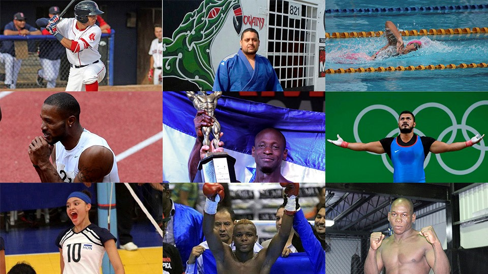 Candidatos a Mejor Deportista Hondureño del 2016
