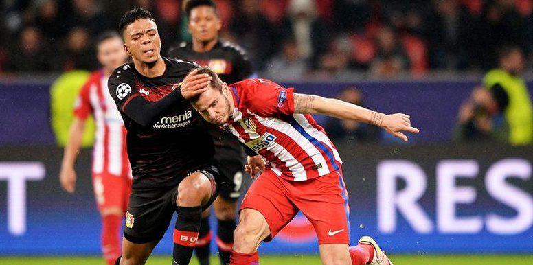 Un Atlético de nivel superlativo, vence de buena forma al Bayer Leverkusen