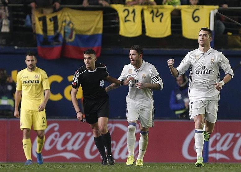 """Real Madrid recupera el liderato con """"nueva"""" polémica incluida ante Villarreal"""