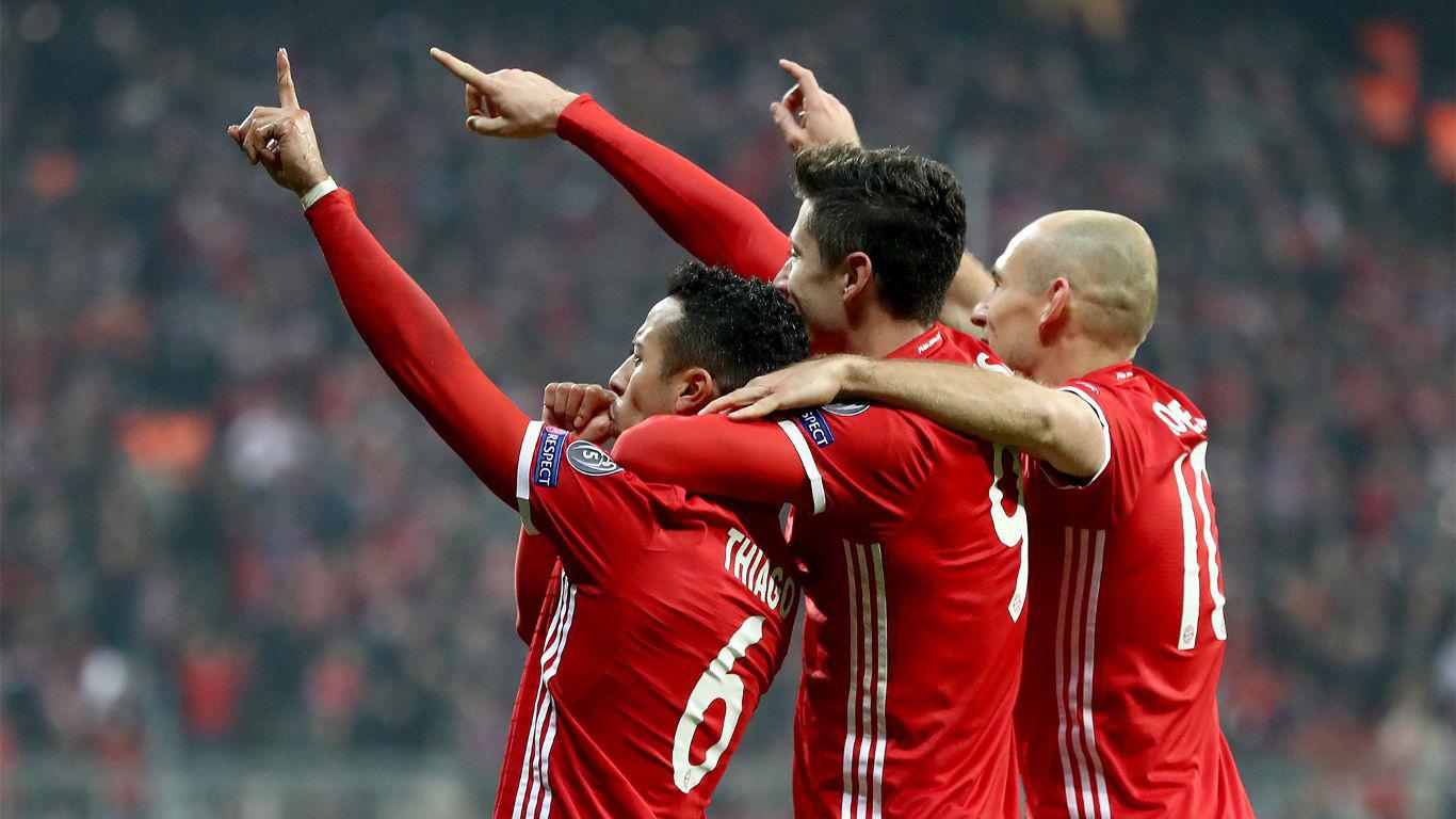 Con su triunfo 16 consecutivo en el Allianz en UCL, Bayern golea al Arsenal