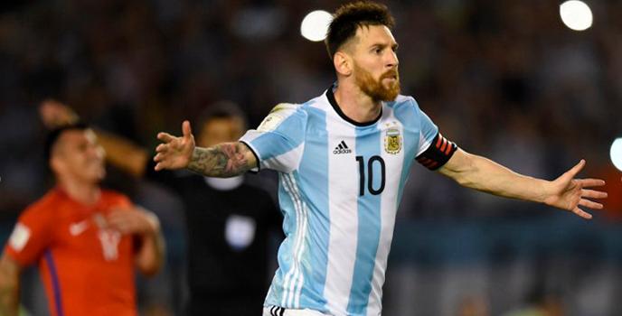 """""""San Lionel"""" Messi tumba a Chile en El Monumental de Buenos Aires"""