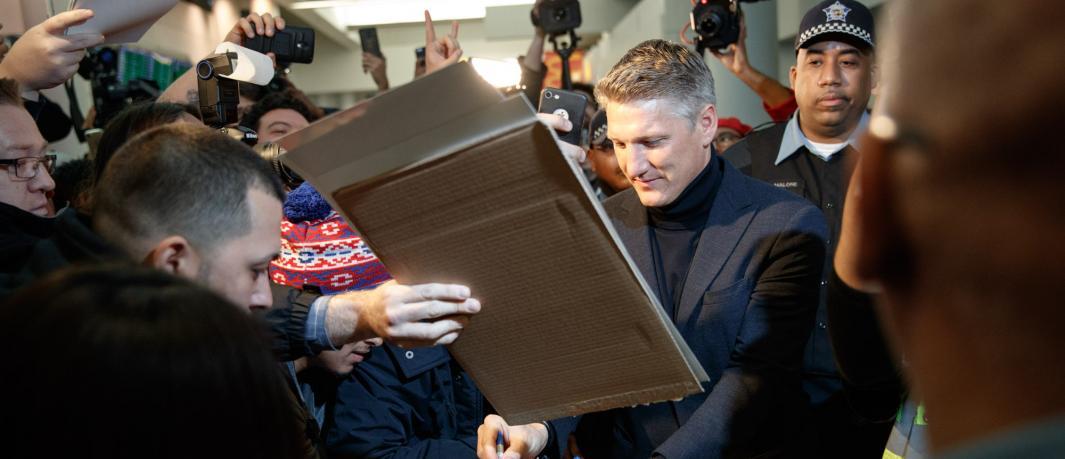Schweinsteiger toma Chicago como su hogar y el de su esposa, Ana Ivanovic