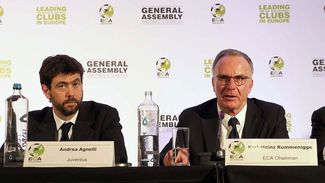 ECA debate sobre el futuro de las competiciones europeas