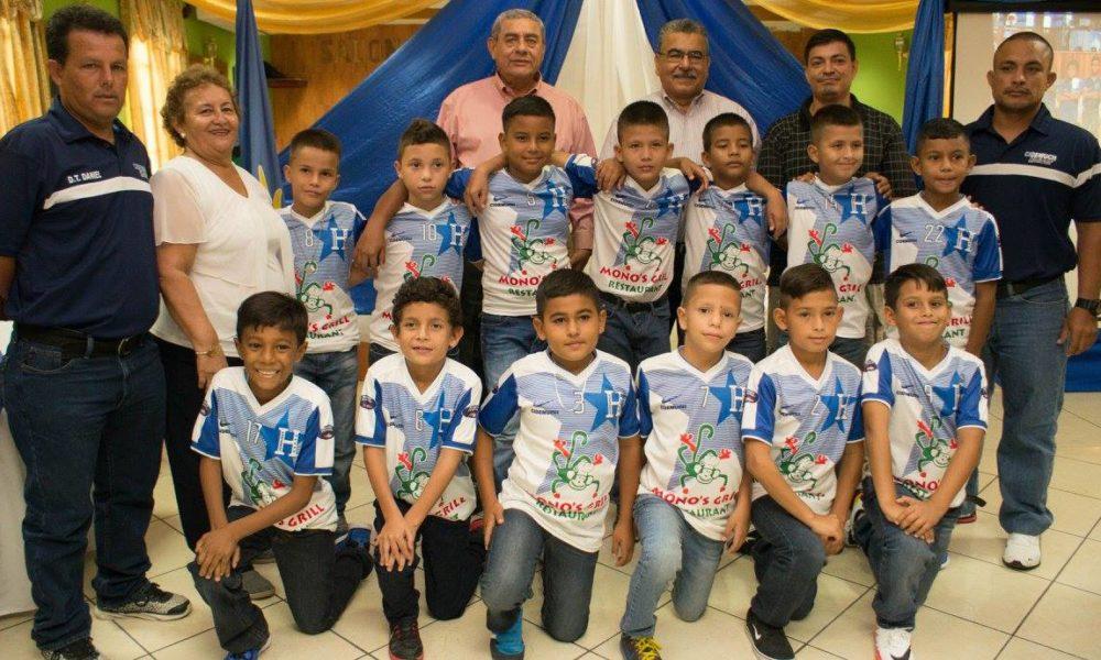 Honduras listo para participar en el Torneo Internacional de Fútbol en Estados Unidos