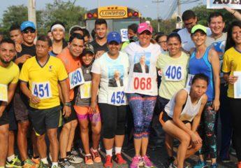 """Exitoso evento deportivo de la UPNFM """"Corriendo por la Salud"""""""