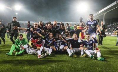 El Anderlecht, sin Andy Najar, se corona campeón de Bélgica