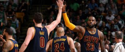 LeBron James conduce a los Cavaliers a una cómoda victoria sobre los Celtics