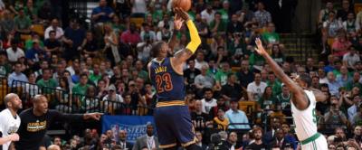 Cavaliers y LeBron pasan por encima de los Celtics y toman ventaja en al final del Este