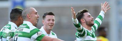 """Celtic golea con 'Milo"""" de titular y se pone a un juego de cerrar como campeón e invicto!"""