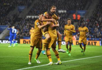 Goleada del Tottenham en casa de los 'Foxes' con Harry Kane de protagonista