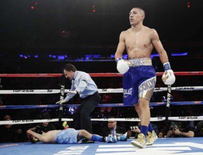 Teófimo López: la puesta en escena de un boxeador de alto vuelos