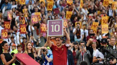 """El adiós de Francesco Totti: un día de tristeza en el """"calcio"""" mundial"""