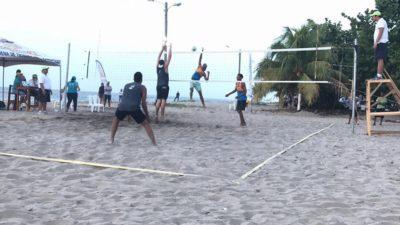 Muy disputado resultó la segunda fecha del Tour Nacional de Beach Volleybal en La Ceiba