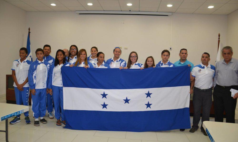 Delegación de Tegucigalpa completó Selección de Natación en el CCCAN