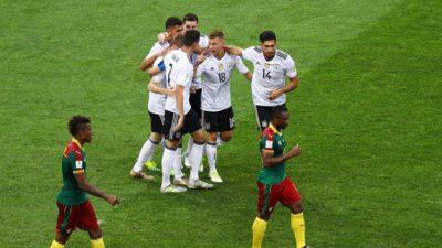 Alemania no da opciones a Camerún y de paso se queda con el grupo