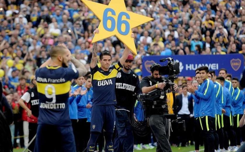 Boca Juniors celebra el título de Argentina con nueva victoria