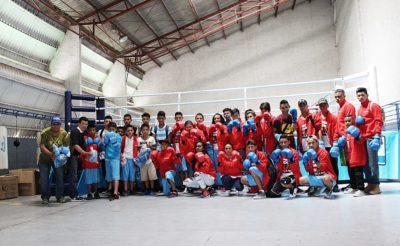 HeadsUp y Taishan hacen donación a Knockout Por La Paz en Tegucigalpa