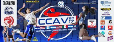 EIS es la sede de una competición élite: Centroamericano de Voleibol