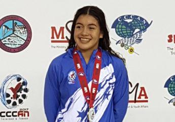 Michelle Ramírez se pone el primer oro por Honduras en el CCCAN