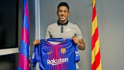 """Hoy si algo oficial por el Barca: firmó """"Choco"""" Lozano con el FCB"""