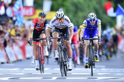 Peter Sagan se lleva la tercera etapa del Tour de Francia 2017