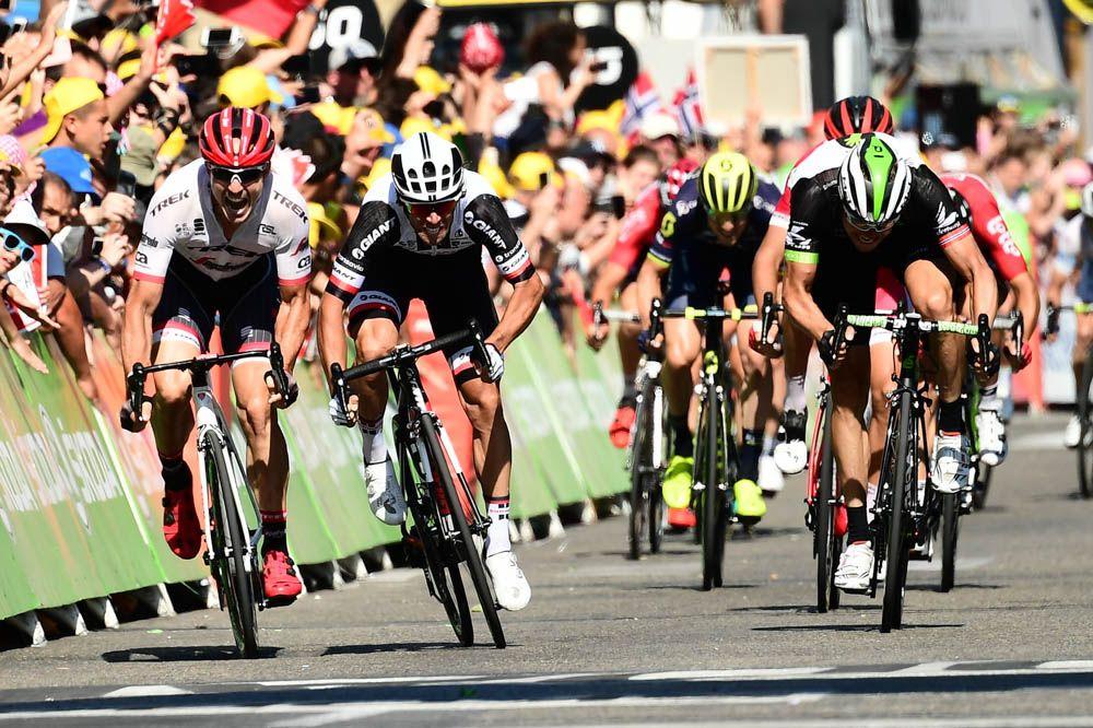 Michael Matthews sacude los puntos al ganar la etapa 16 en Francia