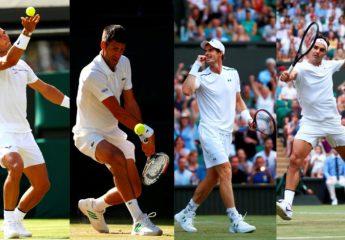 """Wimbledon vive el regreso de los """"cuatro fantásticos"""""""