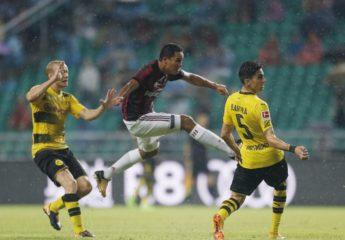 El nuevo Milán aún no carbura: Borussia Dortmund lo liquida en la ICC