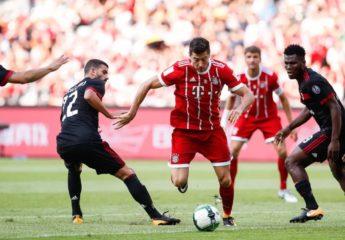 """El nuevo AC MIlán hizo """"pretzel"""" con el FC Bayern de Ancelotti"""
