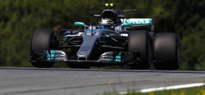 Bottas saldrá desde la pole en Austria; Vettel segundo en el GP Austria