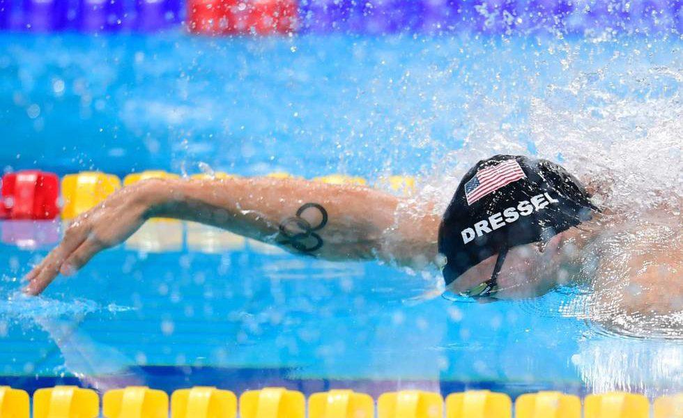 Caeleb Dressel iguala récord de 7 oros de Phelps en Mundial de natación