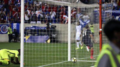 Histórico triunfo tico sobre Honduras en el debut en la Copa Oro 2017