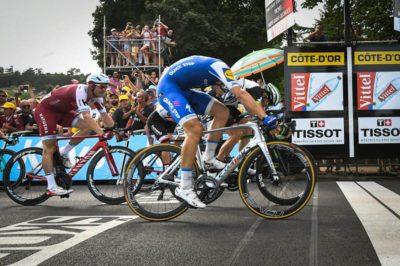 "Marcel Kittel ganó la séptima etapa en Francia por ""una nariz"""