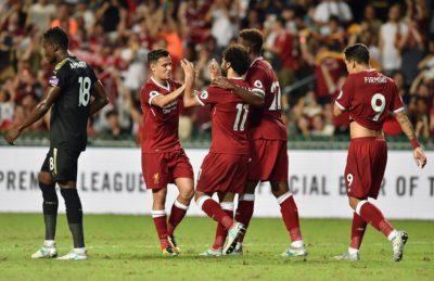 Liverpool se lleva el Premier League Asian Trophy con joya de Coutinho