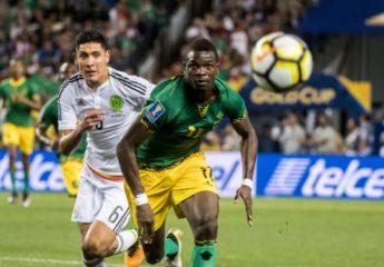 México no pasa de empate con Jamaica y El Salvador le pega a Curazao