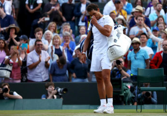 En espectacular partido, Gilles Müller deja fuera a Rafael Nadal