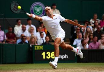 Federer en 'semis' y es el gran candidato en Wimbledon tras abandono de Novak