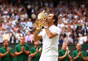 Su majestad, Roger Federer, rey de Wimbledon por octava vez