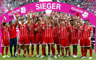 El FC Bayern München gana la Telekom Cup 2017